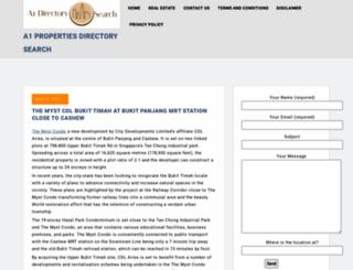 a1directorysearch.com screenshot