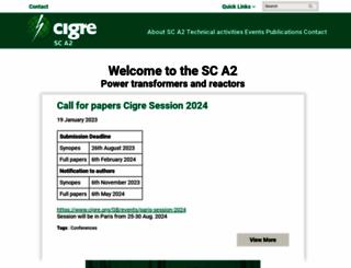 a2.cigre.org screenshot