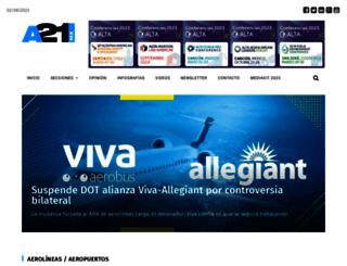 a21.com.mx screenshot