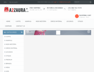 a2zaura.com screenshot