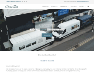 Page load speed analysis  sc 1 st  Accessify & Access a2zcanopies.co.uk. A2z Canopies- Designing Manufacturing ...