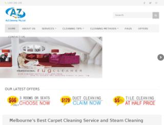 a2zcleaningservices.com.au screenshot