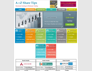 a2zsharetips.com screenshot