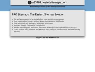 a33901.hostedsitemaps.com screenshot