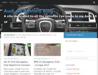 a6retrofit.com screenshot