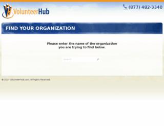 aa80.volunteerhub.com screenshot