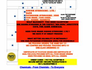 aaa-chemicals.com screenshot