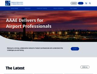 aaae.org screenshot