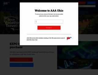 aaagreatvacations.com screenshot