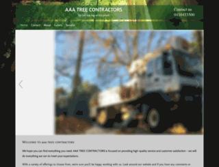 aaatreecontractors.com.au screenshot