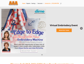 aaavacuumandsewing.com screenshot