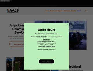 aacsohio.org screenshot