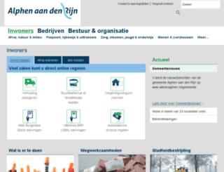 aadr.nl screenshot