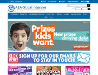 aaglobal.com screenshot