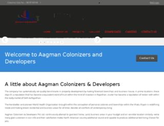 aagmancolonizer.com screenshot