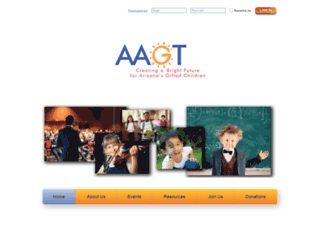 aagt.wildapricot.org screenshot