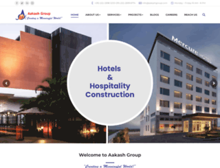 aakashgroup.com screenshot