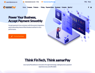aamarpay.com screenshot