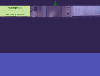 aamphaashowroom.com screenshot