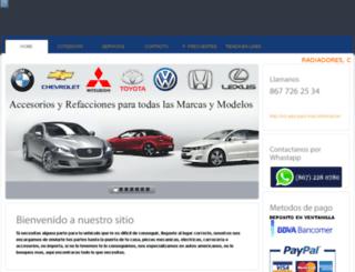 aan.com.mx screenshot