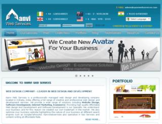 aanviwebservices.com screenshot