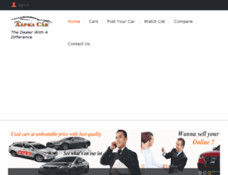 aapkacar.com screenshot