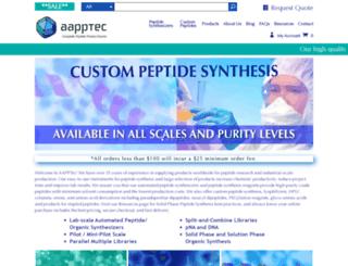aapptec.com screenshot
