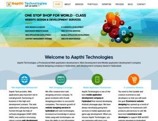 aapthitech.com screenshot