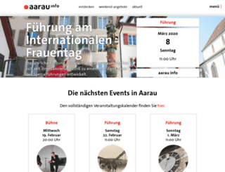 aarauinfo.ch screenshot