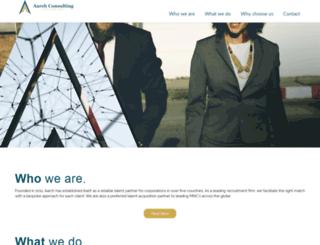 aarchconsulting.com screenshot