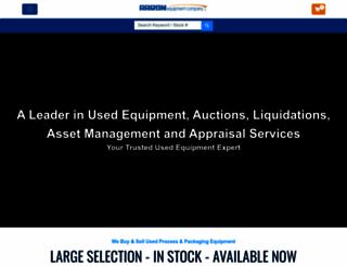 aaronequipment.com screenshot