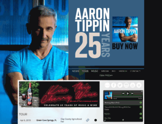 aarontippin.musiccitynetworks.com screenshot