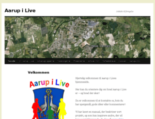 aarup-i-live.dk screenshot