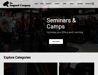 aasgaardco.com screenshot