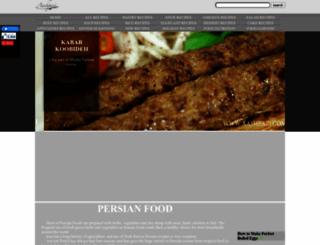 aashpazi.com screenshot