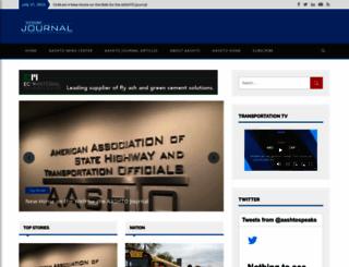 aashtojournal.org screenshot
