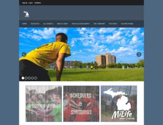 aassc.leagueapps.com screenshot