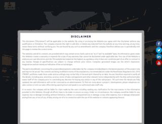aasthainfracity.com screenshot