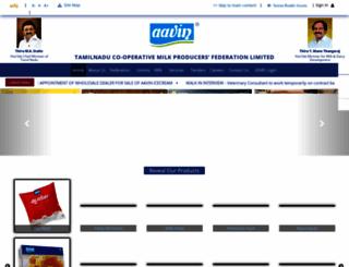 aavinmilk.com screenshot