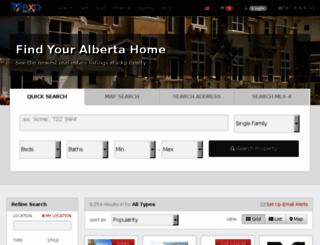 ab.exprealty.com screenshot