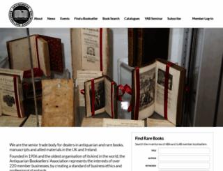 aba.org.uk screenshot