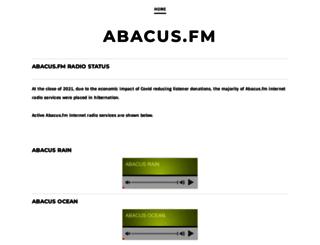 abacus.fm screenshot