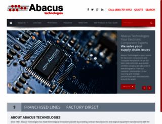 abacuselect.com screenshot