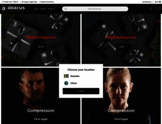 abacussportswear.com screenshot