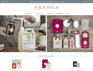 abahna.co.uk screenshot