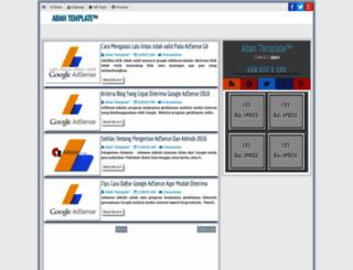 abahtemplate.blogspot.com screenshot