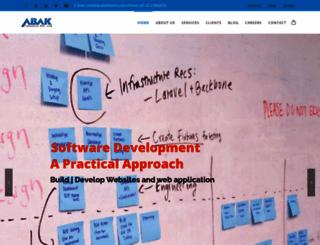 abakinfotech.com screenshot