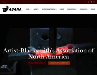 abana.org screenshot