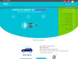 abaseguros.com screenshot