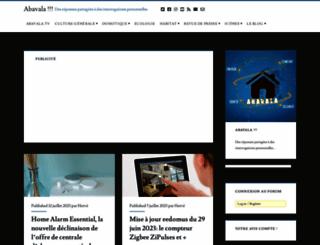 abavala.com screenshot